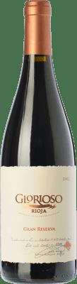 23,95 € Free Shipping | Red wine Palacio Glorioso Gran Reserva D.O.Ca. Rioja The Rioja Spain Tempranillo Bottle 75 cl