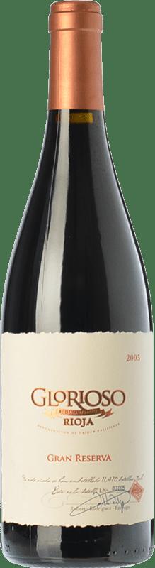 23,95 € Envoi gratuit | Vin rouge Palacio Glorioso Gran Reserva D.O.Ca. Rioja La Rioja Espagne Tempranillo Bouteille 75 cl