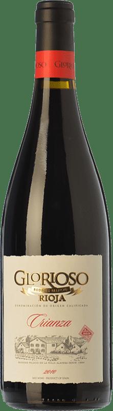 13,95 € Kostenloser Versand | Rotwein Palacio Glorioso Crianza D.O.Ca. Rioja La Rioja Spanien Tempranillo Magnum-Flasche 1,5 L