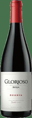 9,95 € Kostenloser Versand | Rotwein Palacio Glorioso Reserva D.O.Ca. Rioja La Rioja Spanien Tempranillo Flasche 75 cl