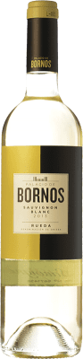 7,95 € Free Shipping | White wine Palacio de Bornos D.O. Rueda Castilla y León Spain Sauvignon White Bottle 75 cl | Thousands of wine lovers trust us to get the best price guarantee, free shipping always and hassle-free shopping and returns.