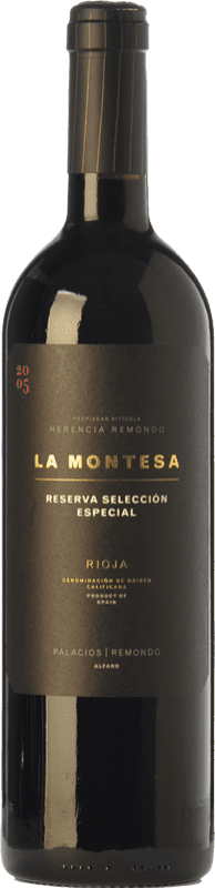 32,95 € Free Shipping | Red wine Palacios Remondo La Montesa Selección Especial Reserva D.O.Ca. Rioja The Rioja Spain Tempranillo, Grenache, Mazuelo Bottle 75 cl