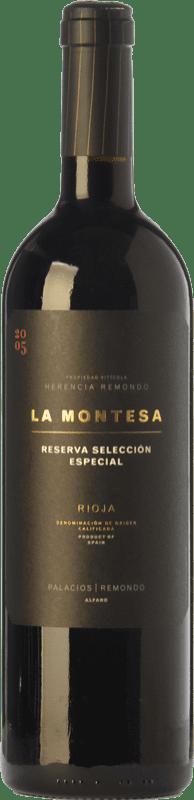 35,95 € Spedizione Gratuita | Vino rosso Palacios Remondo La Montesa Selección Especial Reserva 2010 D.O.Ca. Rioja La Rioja Spagna Tempranillo, Grenache, Mazuelo Bottiglia 75 cl