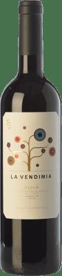 8,95 € Envío gratis | Vino tinto Palacios Remondo La Vendimia Joven D.O.Ca. Rioja La Rioja España Tempranillo, Garnacha Botella 75 cl