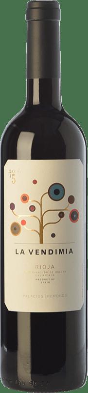 8,95 € Envoi gratuit   Vin rouge Palacios Remondo La Vendimia Joven D.O.Ca. Rioja La Rioja Espagne Tempranillo, Grenache Bouteille 75 cl