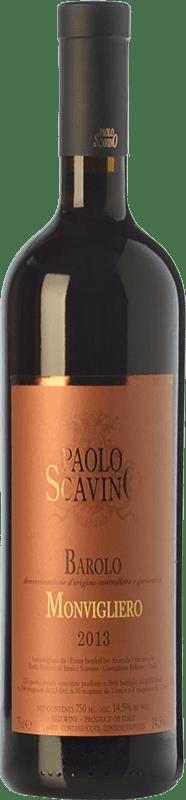 92,95 € Free Shipping | Red wine Paolo Scavino Monvigliero D.O.C.G. Barolo Piemonte Italy Nebbiolo Bottle 75 cl