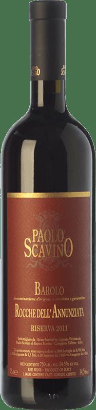 203,95 € Free Shipping | Red wine Paolo Scavino Rocche dell'Annunziata D.O.C.G. Barolo Piemonte Italy Nebbiolo Bottle 75 cl
