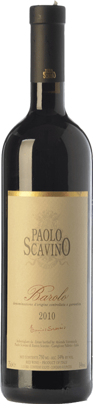 59,95 € Free Shipping | Red wine Paolo Scavino D.O.C.G. Barolo Piemonte Italy Nebbiolo Bottle 75 cl