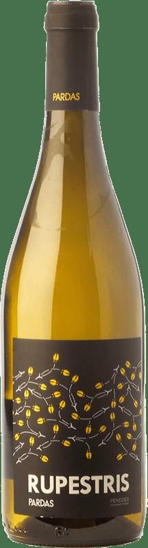 9,95 € Free Shipping | White wine Pardas Rupestris Blanc D.O. Penedès Catalonia Spain Malvasía, Macabeo, Xarel·lo, Xarel·lo Vermell Bottle 75 cl