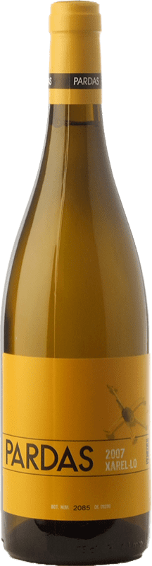 17,95 € Free Shipping | White wine Pardas Crianza D.O. Penedès Catalonia Spain Xarel·lo Bottle 75 cl