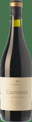 25,95 € Free Shipping | Red wine Pardevalles Carroleón Crianza D.O. Tierra de León Castilla y León Spain Prieto Picudo Bottle 75 cl