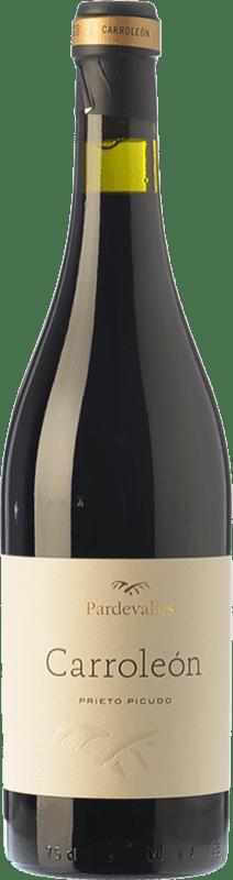25,95 € Envío gratis | Vino tinto Pardevalles Carroleón Crianza D.O. León Castilla y León España Prieto Picudo Botella 75 cl