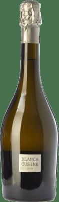 23,95 € Envío gratis | Espumoso blanco Parés Baltà Blanca Cusiné Reserva D.O. Cava Cataluña España Pinot Negro, Chardonnay Botella 75 cl