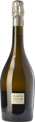23,95 € Kostenloser Versand | Weißer Sekt Parés Baltà Blanca Cusiné Reserva D.O. Cava Katalonien Spanien Pinot Schwarz, Chardonnay Flasche 75 cl