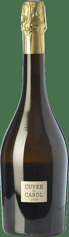 54,95 € Envío gratis | Espumoso blanco Parés Baltà Cuvée de Carol Reserva 2009 D.O. Cava Cataluña España Macabeo, Chardonnay Botella 75 cl