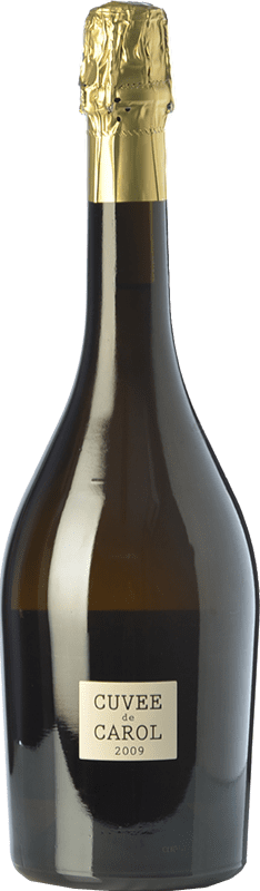 54,95 € Free Shipping | White sparkling Parés Baltà Cuvée de Carol Reserva 2009 D.O. Cava Catalonia Spain Macabeo, Chardonnay Bottle 75 cl