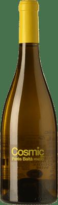 9,95 € Envío gratis | Vino blanco Parés Baltà Còsmic D.O. Penedès Cataluña España Xarel·lo, Sauvignon Blanca Botella 75 cl