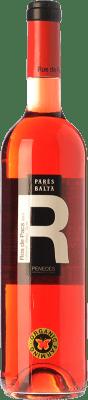 6,95 € Envío gratis | Vino rosado Parés Baltà Ros de Pacs D.O. Penedès Cataluña España Merlot, Cabernet Sauvignon Botella 75 cl