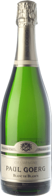 36,95 € Free Shipping | White sparkling Paul Goerg Blanc de Blancs Gran Reserva A.O.C. Champagne Champagne France Chardonnay Bottle 75 cl. | Thousands of wine lovers trust us to get the best price guarantee, free shipping always and hassle-free shopping and returns.