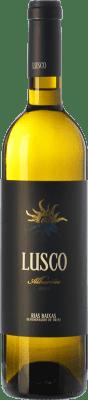 13,95 € Kostenloser Versand | Weißwein Lusco D.O. Rías Baixas Galizien Spanien Albariño Flasche 75 cl