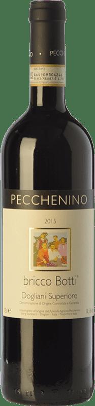 17,95 € Free Shipping | Red wine Pecchenino Superiore Bricco Botti D.O.C.G. Dolcetto di Dogliani Superiore Piemonte Italy Dolcetto Bottle 75 cl