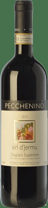 18,95 € Free Shipping | Red wine Pecchenino Superiore Sirì d'Jermu D.O.C.G. Dolcetto di Dogliani Superiore Piemonte Italy Dolcetto Bottle 75 cl