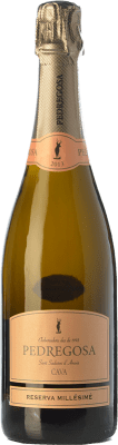 9,95 € Free Shipping | White sparkling Pedregosa Millésime Reserva D.O. Cava Catalonia Spain Pinot Black, Chardonnay Bottle 75 cl. | Thousands of wine lovers trust us to get the best price guarantee, free shipping always and hassle-free shopping and returns.
