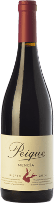 7,95 € Free Shipping | Red wine Peique Joven D.O. Bierzo Castilla y León Spain Mencía Bottle 75 cl