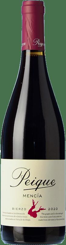 6,95 € Free Shipping | Red wine Peique Joven D.O. Bierzo Castilla y León Spain Mencía Bottle 75 cl