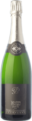 46,95 € Free Shipping | White sparkling Penet-Chardonnet Millésime Grand Cru E Brut Reserva 2007 A.O.C. Champagne Champagne France Pinot Black, Chardonnay Bottle 75 cl. | Thousands of wine lovers trust us to get the best price guarantee, free shipping always and hassle-free shopping and returns.