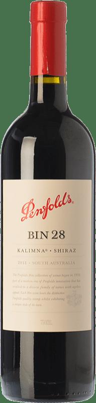 34,95 € Envoi gratuit | Vin rouge Penfolds Bin 28 Kalimna Shiraz Crianza I.G. Southern Australia Australie méridionale Australie Syrah Bouteille 75 cl