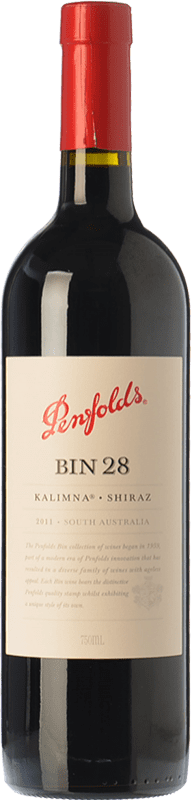 34,95 € Envío gratis   Vino tinto Penfolds Bin 28 Kalimna Shiraz Crianza I.G. Southern Australia Southern Australia Australia Syrah Botella 75 cl