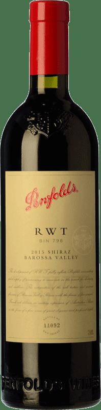 194,95 € Envío gratis | Vino tinto Penfolds RWT Shiraz Crianza I.G. Southern Australia Southern Australia Australia Syrah Botella 75 cl
