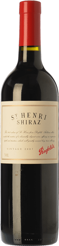 57,95 € Free Shipping | Red wine Penfolds St. Henri Shiraz Crianza 2007 I.G. Southern Australia Southern Australia Australia Syrah, Cabernet Sauvignon Bottle 75 cl