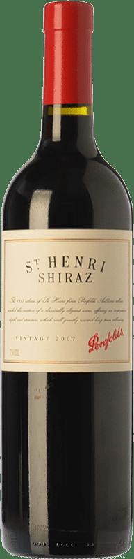 57,95 € Envío gratis   Vino tinto Penfolds St. Henri Shiraz Crianza 2007 I.G. Southern Australia Southern Australia Australia Syrah, Cabernet Sauvignon Botella 75 cl