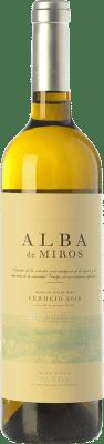 9,95 € Envío gratis | Vino blanco Peñafiel Alba de Miros D.O. Rueda Castilla y León España Verdejo Botella 75 cl