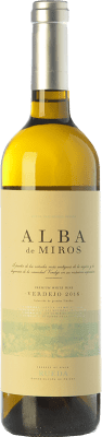9,95 € Kostenloser Versand | Weißwein Peñafiel Alba de Miros D.O. Rueda Kastilien und León Spanien Verdejo Flasche 75 cl