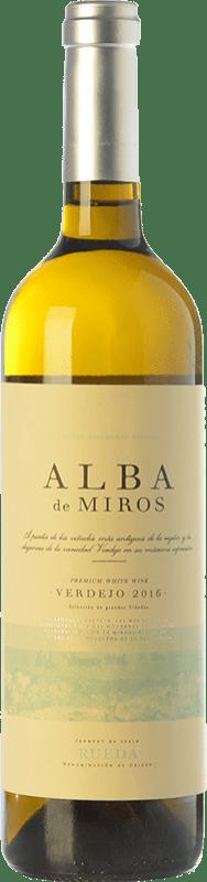 10,95 € Free Shipping   White wine Peñafiel Alba de Miros D.O. Rueda Castilla y León Spain Verdejo Bottle 75 cl