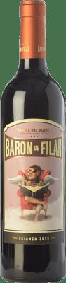 16,95 € Free Shipping | Red wine Peñafiel Barón de Filar Crianza D.O. Ribera del Duero Castilla y León Spain Tempranillo, Merlot, Cabernet Sauvignon Bottle 75 cl