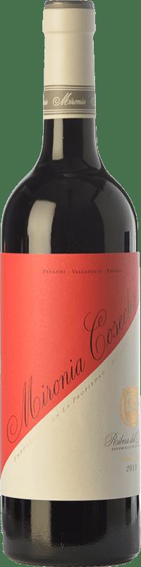 6,95 € Envío gratis | Vino tinto Peñafiel Mironia Cosecha Joven D.O. Ribera del Duero Castilla y León España Tempranillo Botella 75 cl