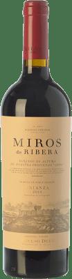 18,95 € Free Shipping | Red wine Peñafiel Miros Crianza D.O. Ribera del Duero Castilla y León Spain Tempranillo Bottle 75 cl