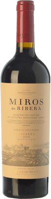 18,95 € Kostenloser Versand | Rotwein Peñafiel Miros Crianza D.O. Ribera del Duero Kastilien und León Spanien Tempranillo Flasche 75 cl