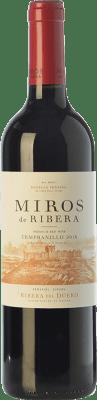 7,95 € Free Shipping | Red wine Peñafiel Miros Cosecha Joven D.O. Ribera del Duero Castilla y León Spain Tempranillo Bottle 75 cl