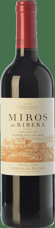 6,95 € Free Shipping   Red wine Peñafiel Miros Cosecha Joven D.O. Ribera del Duero Castilla y León Spain Tempranillo Bottle 75 cl