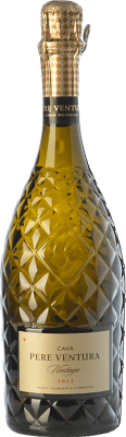 36,95 € Free Shipping | White sparkling Pere Ventura Vintage Gran Reserva D.O. Cava Catalonia Spain Xarel·lo, Chardonnay Bottle 75 cl. | Thousands of wine lovers trust us to get the best price guarantee, free shipping always and hassle-free shopping and returns.
