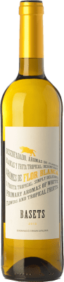 5,95 € Free Shipping | White wine Pere Ventura Basets Blanc Joven D.O. Catalunya Catalonia Spain Muscatel, Macabeo Bottle 75 cl