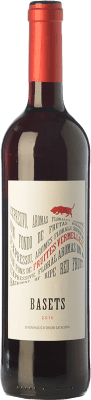 5,95 € Free Shipping | Red wine Pere Ventura Basets Negre Joven D.O. Catalunya Catalonia Spain Merlot, Cabernet Sauvignon Bottle 75 cl