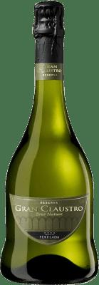 14,95 € Envío gratis | Espumoso blanco Perelada Gran Claustro Brut Nature Reserva D.O. Cava Cataluña España Pinot Negro, Chardonnay, Parellada Botella 75 cl