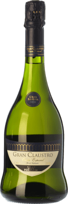 16,95 € Free Shipping | White sparkling Perelada Gran Claustro Cuvée Especial Brut Nature Gran Reserva 2011 D.O. Cava Catalonia Spain Xarel·lo, Chardonnay, Parellada Bottle 75 cl | Thousands of wine lovers trust us to get the best price guarantee, free shipping always and hassle-free shopping and returns.