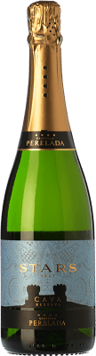 7,95 € Free Shipping | White sparkling Perelada Stars Brut Reserva D.O. Cava Catalonia Spain Macabeo, Xarel·lo, Parellada Bottle 75 cl | Thousands of wine lovers trust us to get the best price guarantee, free shipping always and hassle-free shopping and returns.